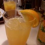 39455216 - パイン&オレンジジュース。