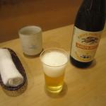 汐見 - 瓶ビール(一番搾り)