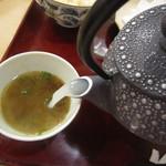 汐見 - 蕎麦湯は濃厚