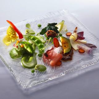 健康・美容をテーマにしたヘルシーな広東料理