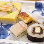 大〆 - にしき寿司のセット