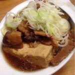 39458050 - 名物の肉豆腐(590円)