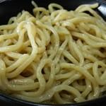 麺王 - 太麺です。