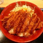 かつ丼 城下町 - ソースかつ丼540円