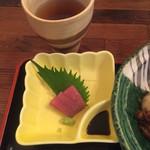 Kiseturyourihiro - 日替わり定食のお刺身