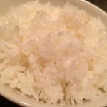 彩香園 - お米はかためにたかれてた