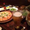 RESTAURANT & BAR 雅朧 - 料理写真:ビール 枝豆 スパイシーポテト マルゲリータ