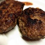 ミート工房 拓味 - 料理写真:都萬牛ハンバーグ
