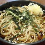 寿々喜 - 冷たい蕎麦