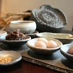 モリカ - 古代米の白玉もち 720円