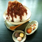 モリカ - 料理写真:こおりやま(かき氷) 900円