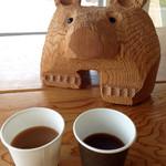 Tankumanibankan - コーヒーは無料。クマの置物は触り放題!