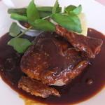 レストラン 洋灯舎 - 豊後牛のハンバーグステーキ 特製ソース 特製デミグラスソース 1,650円