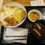 Tonkatsuginzabairin - モーニングかつ丼セット_2015/06