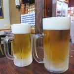 漁師町ものがたり傘姉妹 - 生ビール