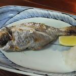 漁師町ものがたり傘姉妹 - アメタ塩焼き 600円