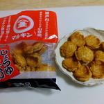 坂手港 売店 - 料理写真:マルキンしょうゆせんべい:200円※税込