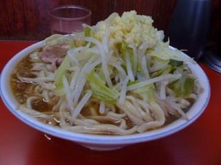 ラーメン二郎 目黒店 - スープ決壊注意!^p^
