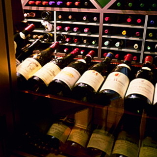 品揃え豊富なワイン