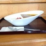 奈良俣ダム サービスセンター - 料理の器がイイね