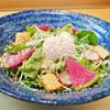 【山梨】八ヶ岳玉子のシーザーサラダ