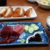 ふなうき荘 - 料理写真:一日目の夕食