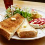 パパズキッチン - 料理写真:モーニングセット