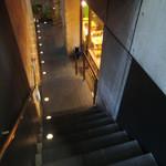 ティーハウスタカノ - 階段