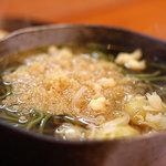 藪善 - 料理写真:茶そば(温製)