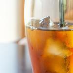 ら・びゅー - 蒲生紅茶をアイスで