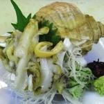 和食工房 - つぶ貝刺身