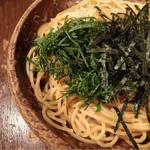 スパゲティーnokishita - たらこ、ウニ、大葉