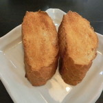 ハーモニー - 厚切りのバゲットトースト