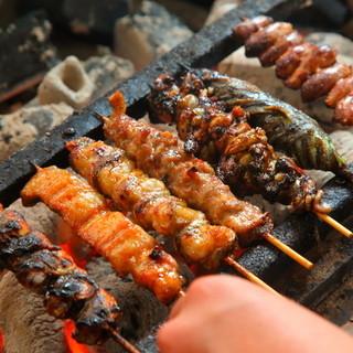 中々味わう事のできないツウ好みのひと串をご用意しております!