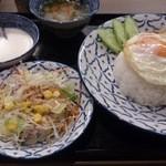 Roi Khon - ・カオガパオガイ セットの全容