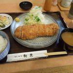 とんかつ和泉 - 大ロースかつ定食