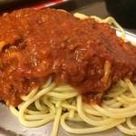 スパゲッティーのパンチョ - ココ、実はミートも相当イケるんだよ。