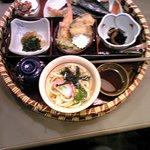かかし茶屋 - 小町御膳(少しピンボケですみません)