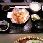 かかし茶屋 - 天ぷら御膳