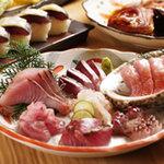 銀座船形 大手町 - 料理写真:ブランド魚の宝庫です
