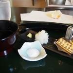 日本料理天ぷらあい田 - 薬味
