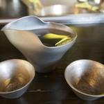 日本料理天ぷらあい田 - 酒