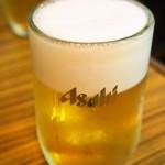 平和樓 - 生ビール