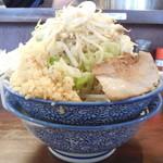 ふえ木 - ふえ郎ラーメン+ニンニク増し増し野菜