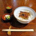 39502823 - ランチ鰻丼(1,000円)
