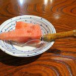 鍋茶屋 - 食後の果物