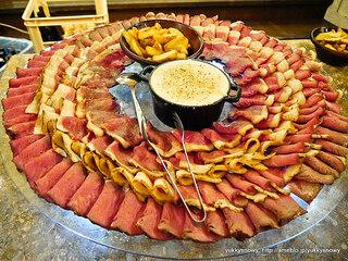 キリストンカフェ東京 - ローストビーフ