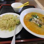 39503977 - 炒飯&麺ランチ(850円)