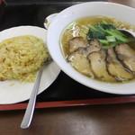 39503984 - 炒飯&麺ランチ(850円)