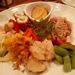 ぽち食堂 - 前菜盛り合わせ8種